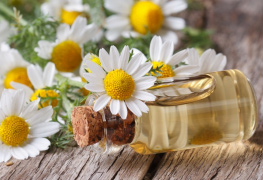 Chamomile skin care products beauty products