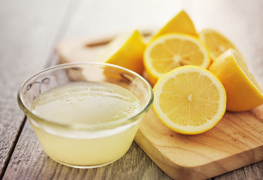 Lemon skin care products beauty products