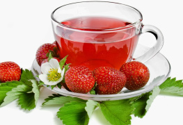 Strawberry tea-flavoured-tea-green-tea-black-tea-premium-tea